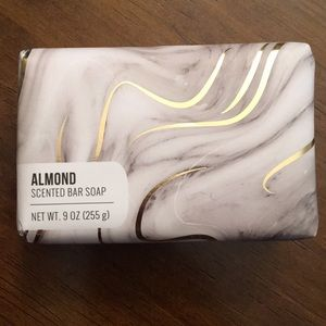Almond scented bar soap